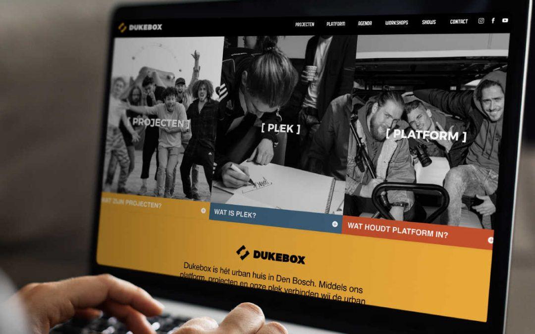 Dukebox website